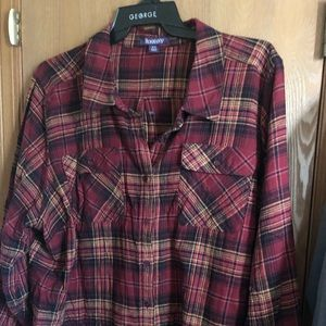 Woman's Flannel... Beautiful Fall colors